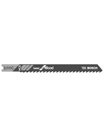 Sticksågbladset Bosch U111C 3-Pack