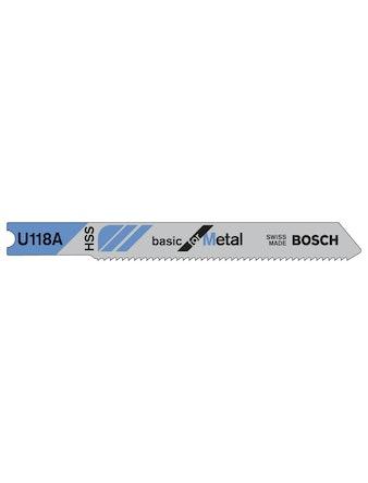 Sticksågbladset Bosch U118A 3-Pack