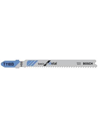 Sticksågbladset Bosch T118B 3-Pack