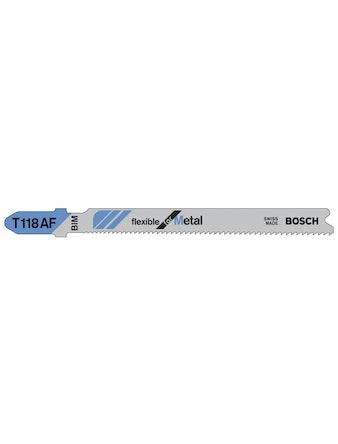 Sticksågbladset Bosch T118AF 3-Pack