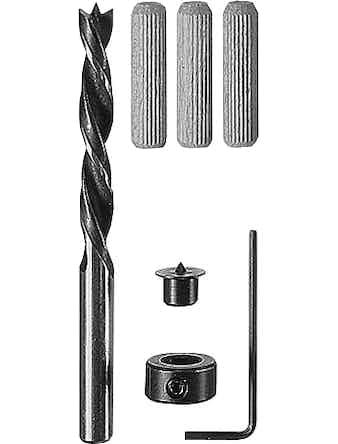 Träpluggset Bosch 6mm 32-Pack