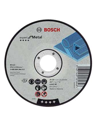 Диск отрезной Bosch по металлу