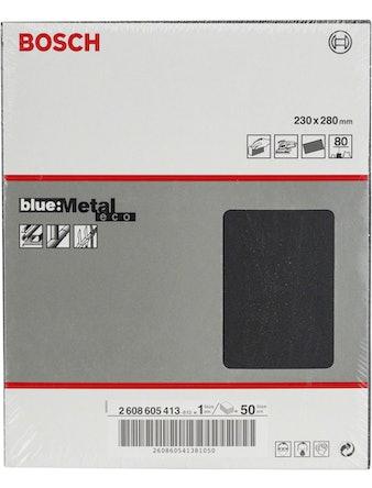 Шлифлист BOSCH д.метал.ручное Metal К80