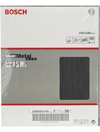 Шлифлист BOSCH д.метал.ручное Metal К180