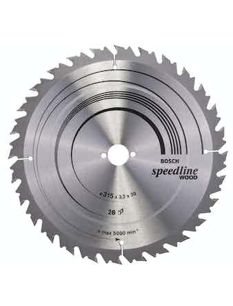 Cirkelsågsklinga Bosch Optiline T28 315X30mm