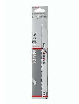 Пилки сабельные Bosch S1122HF, 2 шт.