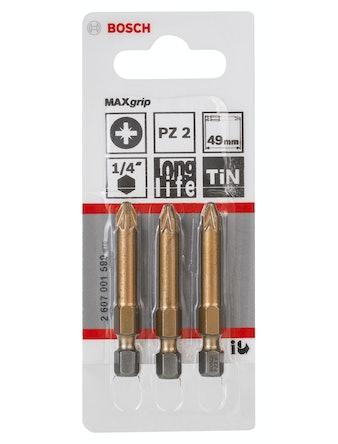 Bitssats Bosch Maxgrip PZ2 49mm 3-Pack