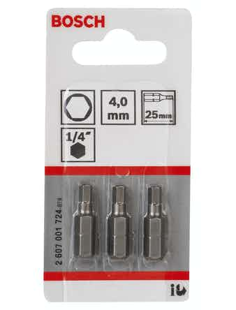 Bitsset Bosch 3-pack 4 25 mm