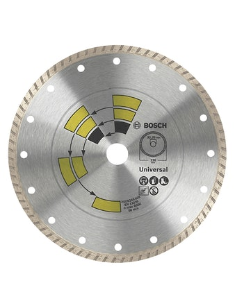 Диск алмазный Bosch Universal Turbo универсальный 125 мм