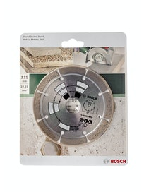 Диск алмазный Bosch по бетону