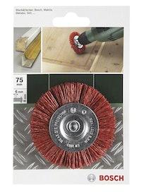 Щётка дисковая BOSCH для дрели нейлон 75 мм