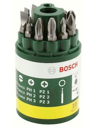 Bitsset Bosch 10-Pack