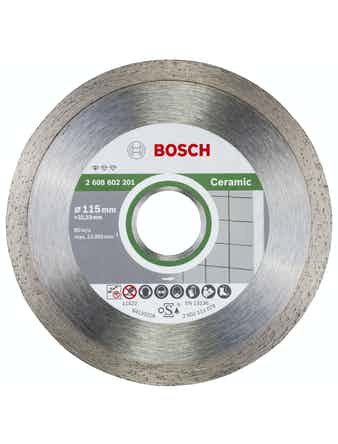 Диск алмазный Bosch Professional по керамике