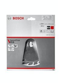 Диск пильный Bosch Spedline Eco, 160 мм x 24 зуб. х 20/16 мм