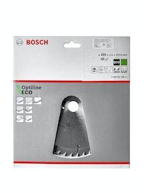 Диск пильный Bosch Optiline Eco, 190 мм х 48 зуб. х 20/16 мм