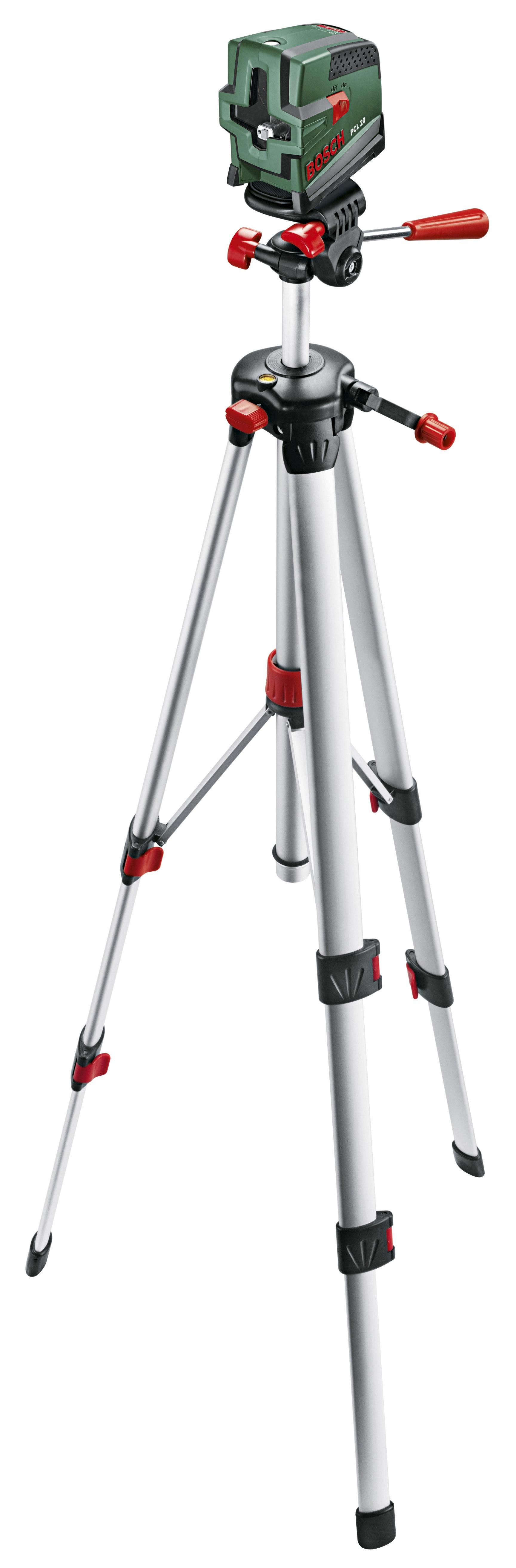 Krysslaser Bosch PCL 20 med stativ