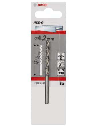 Metallborr Bosch HSS-G 4,1X75mm