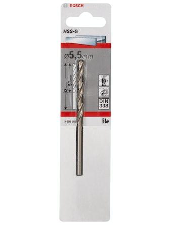 Metallborr Bosch HSS-G 5,5X93mm