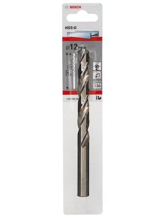 Metallborr Bosch HSS-G 12X151mm