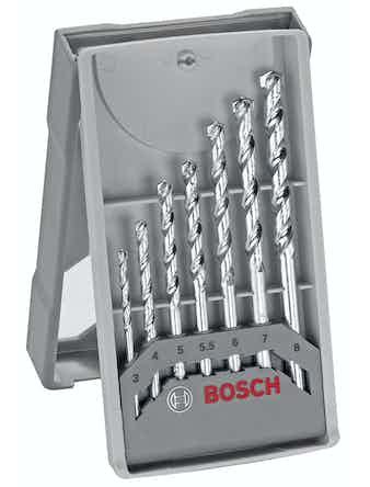 Betongborrset Bosch Pro 3-8mm 7-Pack