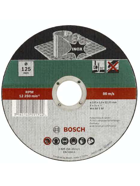 KATKAISULAIKKA BOSCH 125X1 MM INOX DIY