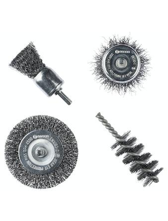 Набор щеток Bosch, сталь