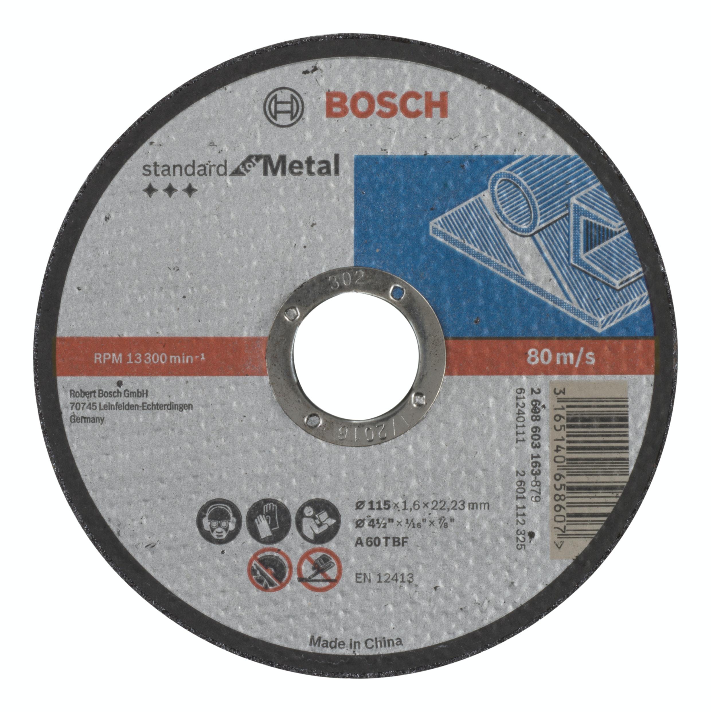 Kapskiva Bosch Rak 115X1,6mm
