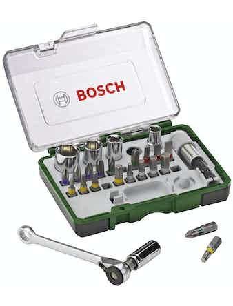 Bits/Hylsnyckelset Bosch 27 Delar