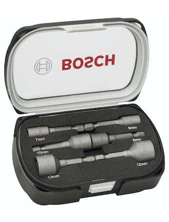 Hylsnyckelset Bosch Magnet 6-13mm