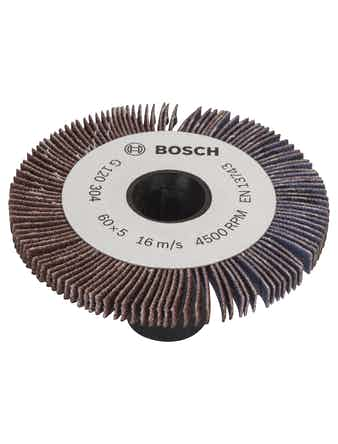 Lamellrulle Bosch 5mm K120