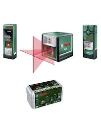 Набор измерительных инструментов Bosch PLR15 + PMD 7 + Quigo