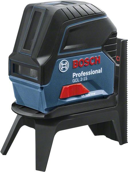Linje-punktlaser Bosch GCL 2-15 Professional M/BM 3-Box