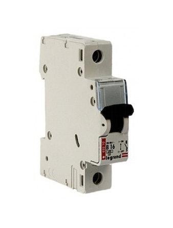Выключатель автоматический однополюсный 16А 6кА Legrand
