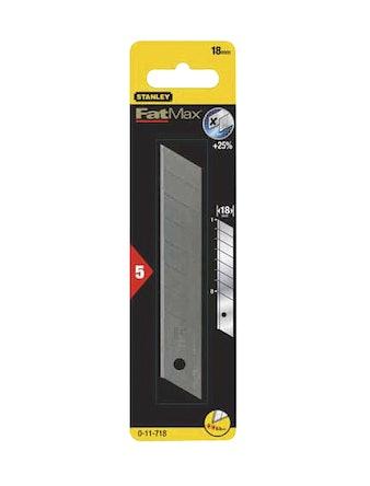 Лезвие для ножа STANLEY 0-11-718 18 мм