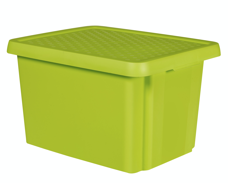 Förvaringslåda Curver Essentials 26L Grön Utan Lock