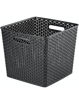 Förvaringsbox Curver Rotting Svart 32X33X28cm