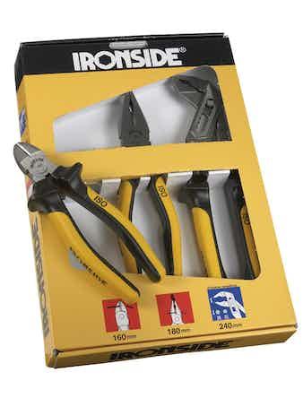 Tångset Ironside 3-Delar