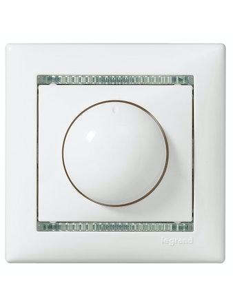 Диммер Legrand Valena 40-400 Вт, белый