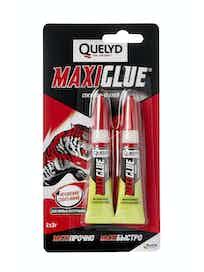 Клей секундный Quelyd Maxiglue, 3 г, 2 шт.