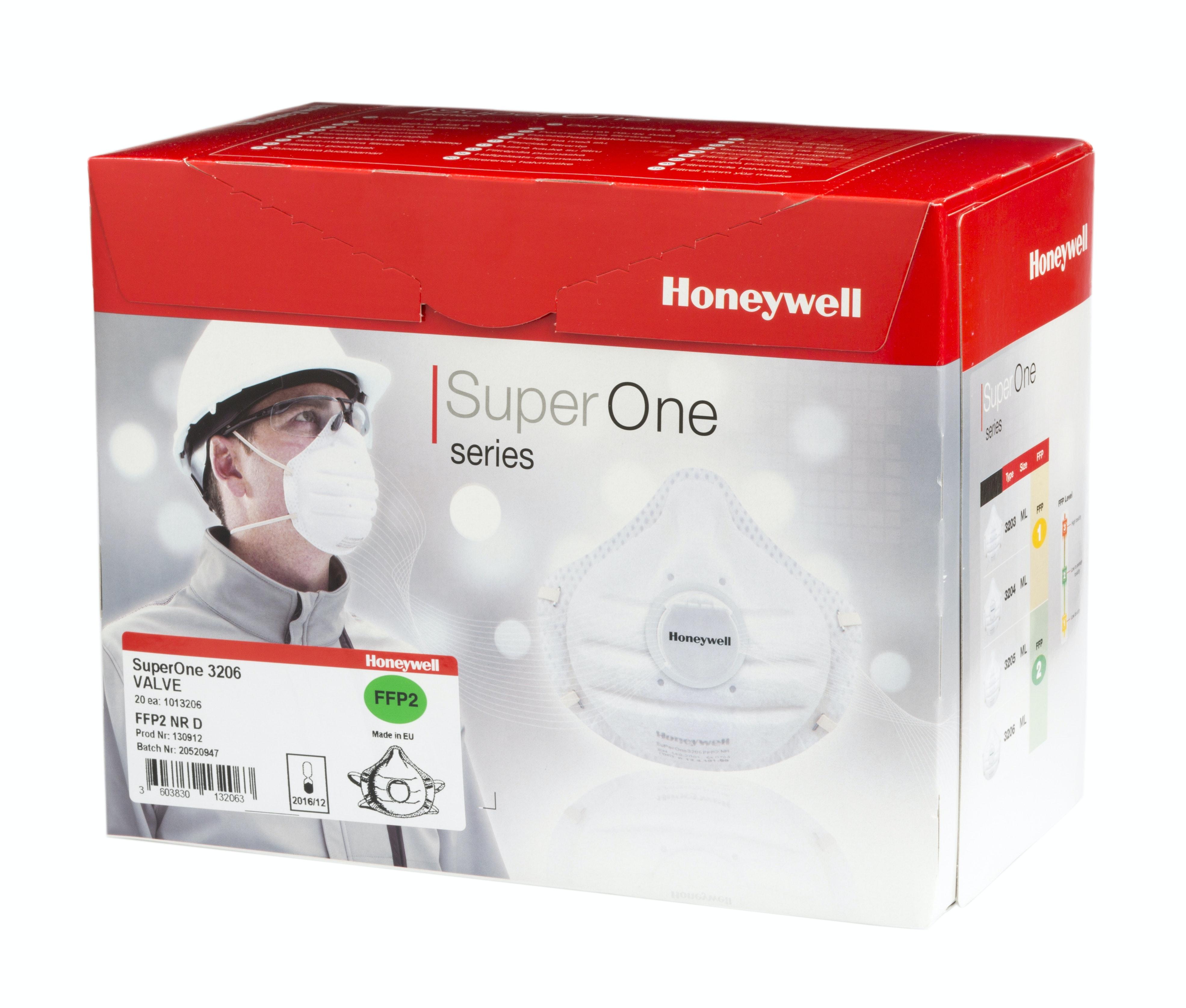 Andningsskydd Honeywell 3206 20-Pack