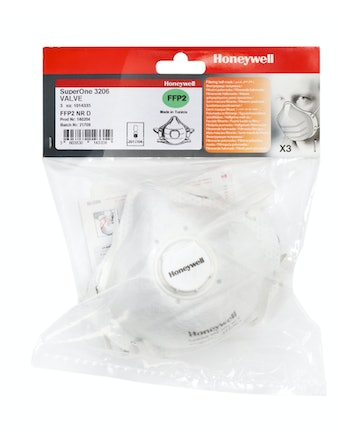 Andningsskydd Honeywell 3206 3-Pack