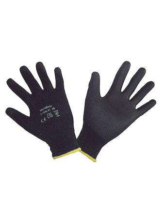 Handskar Workeasy Black 10 Par Stl 11