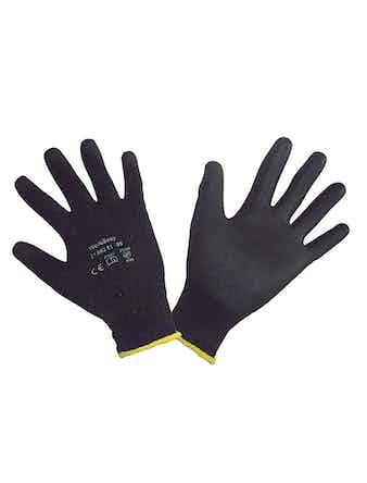 Handskar Workeasy Black 10 Par Stl 8