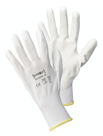 Handskar Pu First White Koko Stl 10