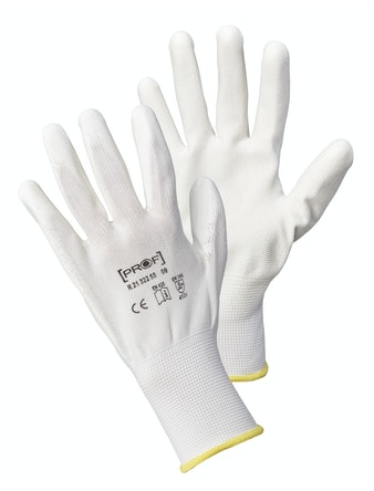 Handskar Pu First White Koko Stl 11