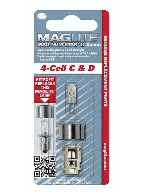POLTTIMO MAGLITE MAGNUM II XENON 4D/4C