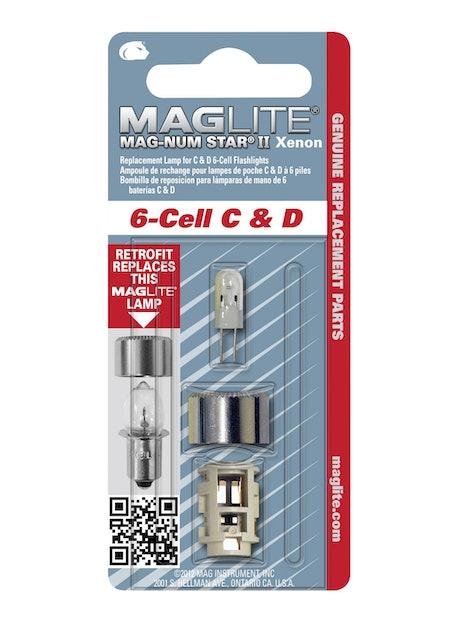 POLTTIMO MAGLITE MAGNUM II XENON 6D/6C