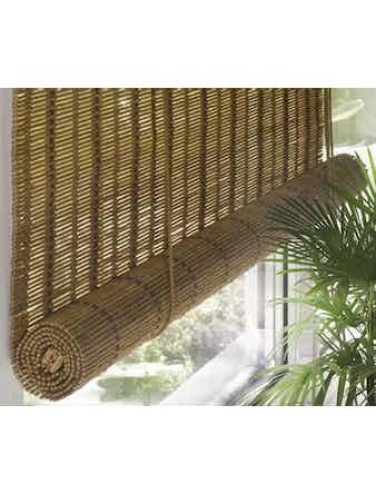 Шторы рулонные из бамбука 140х160 см