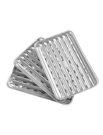 Grilltillbehör Grillformar Landmann Aluminium 3st 0249