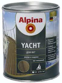 Лак для яхт Alpina Yacht, глянцевый, 0,75 л